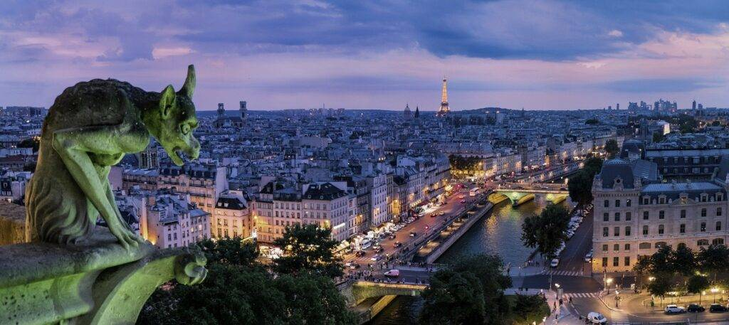 paris gargoyle france architecture Paris At Night: One of My Favorite Cities in the world 2021