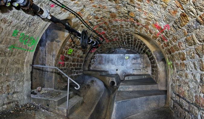 UNUSUAL PLACE OF THE MONTH: THE PARIS SEWERS IN 2021