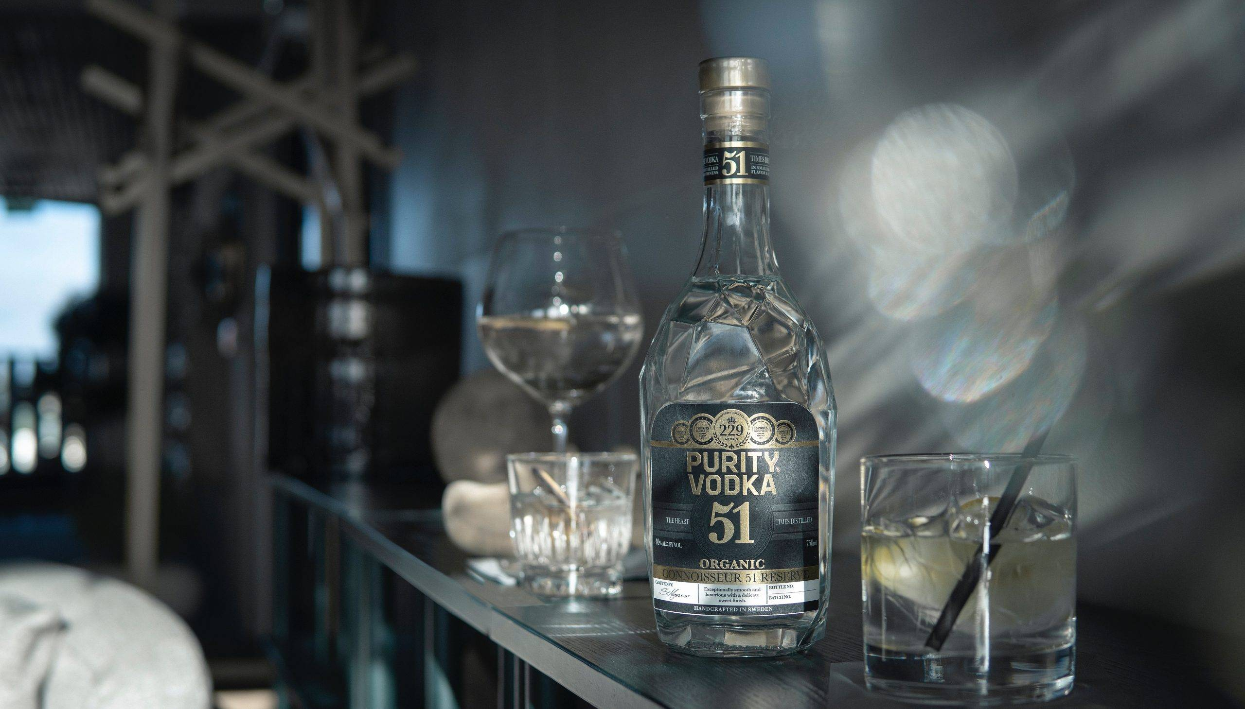Vodka: Crystal Clear Smoothness